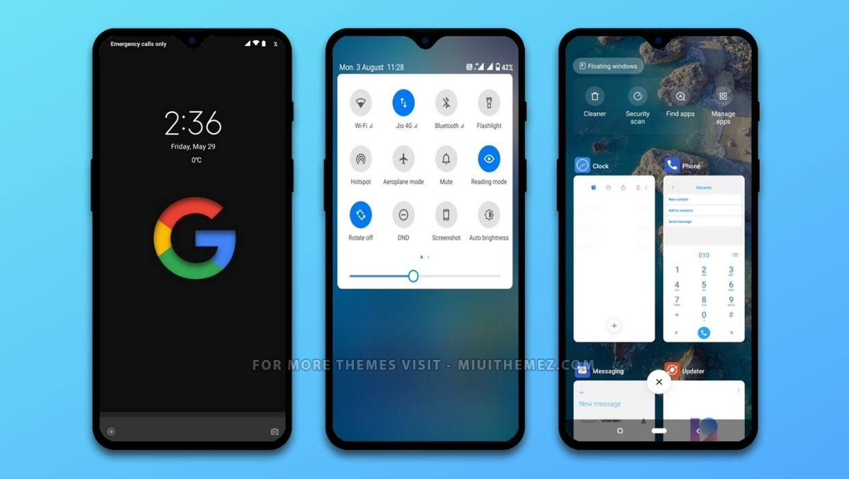 PIXEL [White - Dark] MIUI 12 Theme