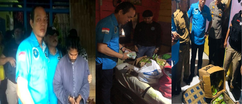 BNN Ungkap Tindak Pidana Narkotika Jenis Sabu 50 Kg dari Tukang Becak di Medan