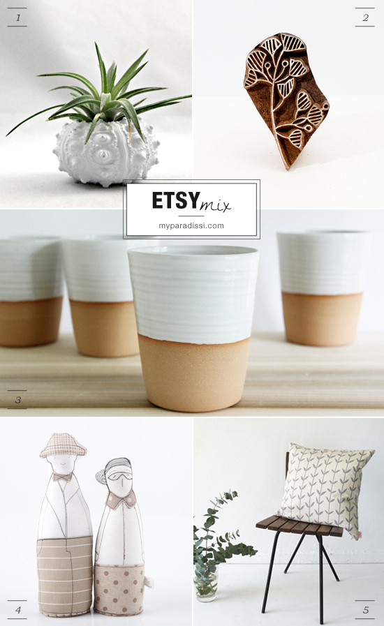 Neutral shades #etsy finds by myparadissi.com