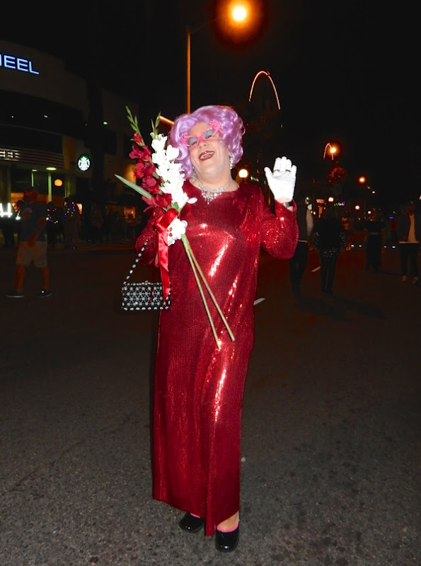 Dame Edna Everage West Hollywood Halloween costume