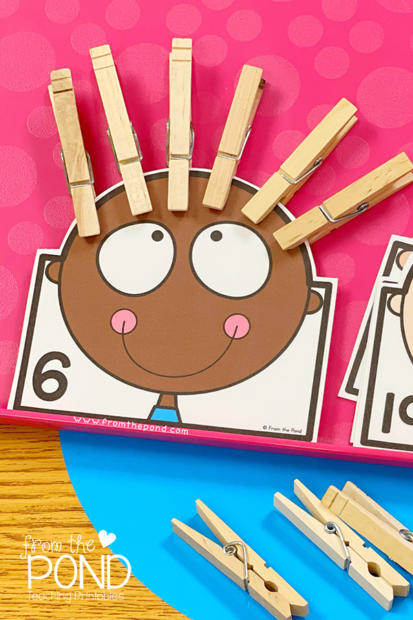 Learning Numbers to 6