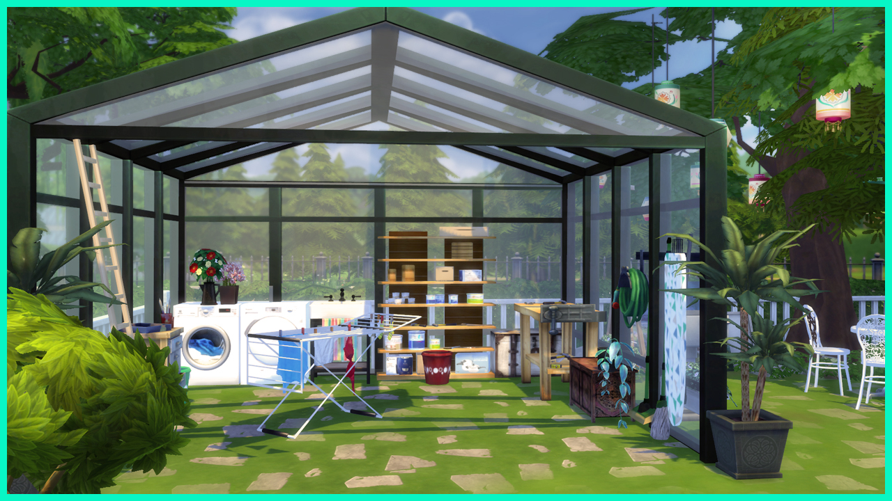 Ingrid beauty home sims 4 custom content for Ingrid house