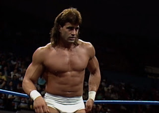WCW Halloween Havoc 1989 - 'The Z-Man' Tom Zenk faced Captain Mike