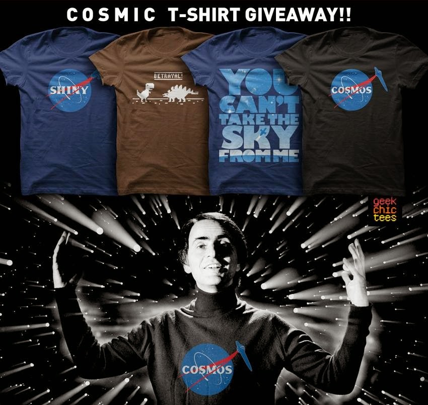 Cosmos roth t shirt giveaway
