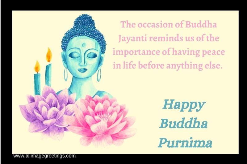 Buddha Purnima quotes image