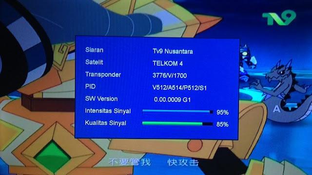 Frekuensi TV 9 Nusantara