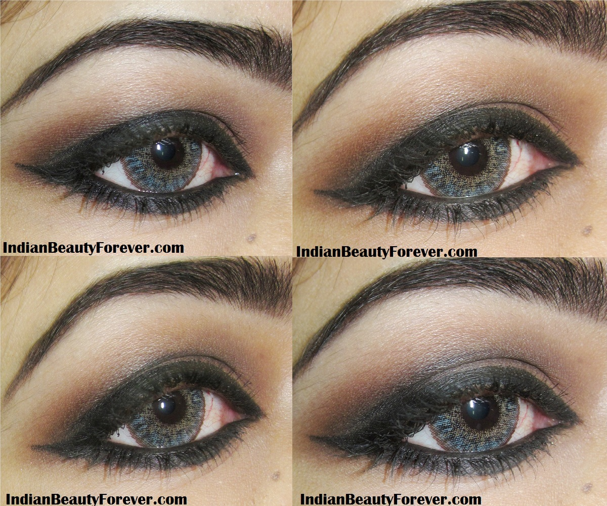 Smokey Brown Eye Makeup step by step Tutorial - Indian ...