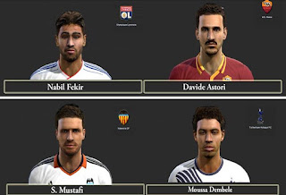 Big Facepack Vol.1 Pes 2013 by SG8