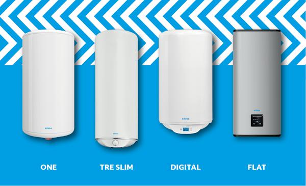 Termoacumuladores EDESA permitem escolher a opção de conforto térmico que melhor se adapta ao consumidor