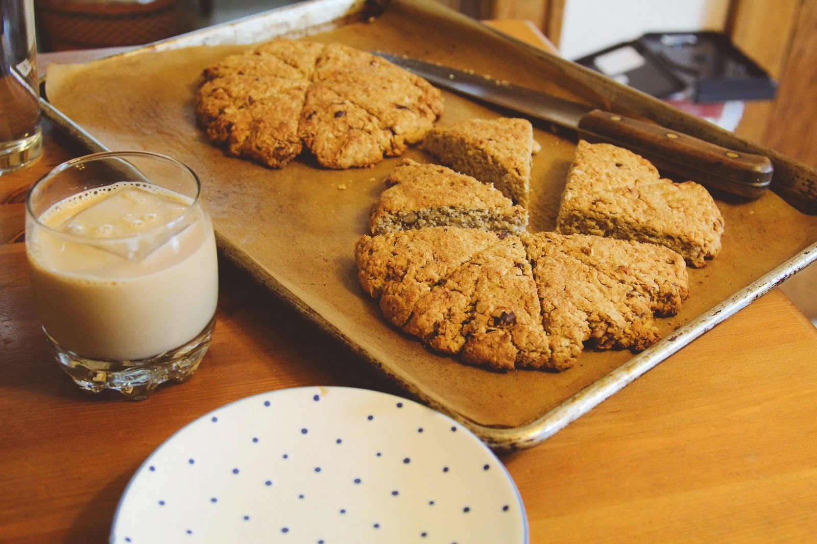 Gluten Free Scottish Oat Scones