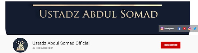 channel ustadz abdul somad
