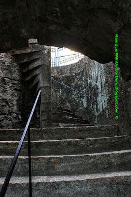staircase, Baluarte de San Diego, Intramuros, Manila, Philippines