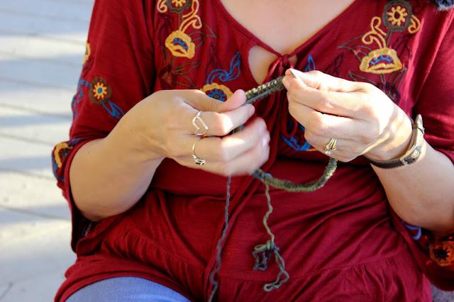 Knitting Retreat photos by floresita, from her blog