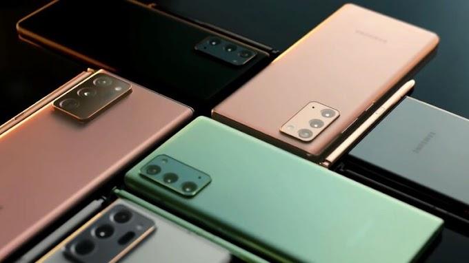 Familia del Samsung Galaxy Note20 son la nueva opción de productividad y fotografía