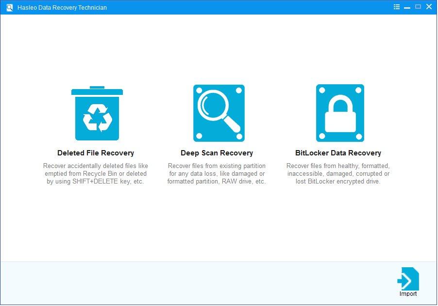 تحميل برنامج استعادة البيانات المحذوفة أو المفقودة Hasleo Data Recovery 5.5  نسخة كاملة