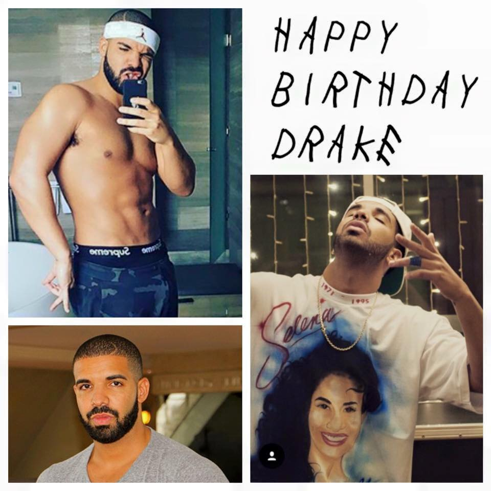 Drake's Birthday Wishes Photos