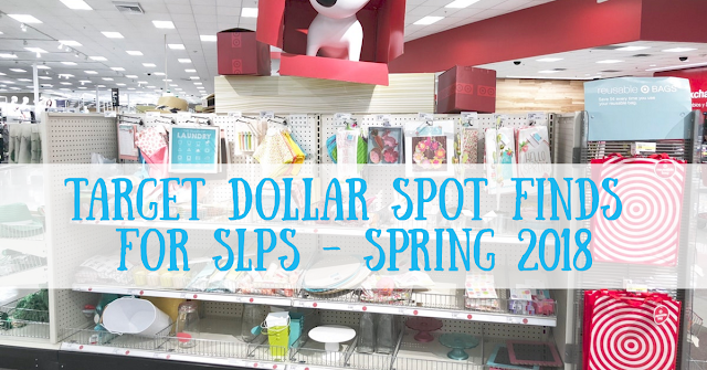 Target Dollar Spot Finds for speech therapy