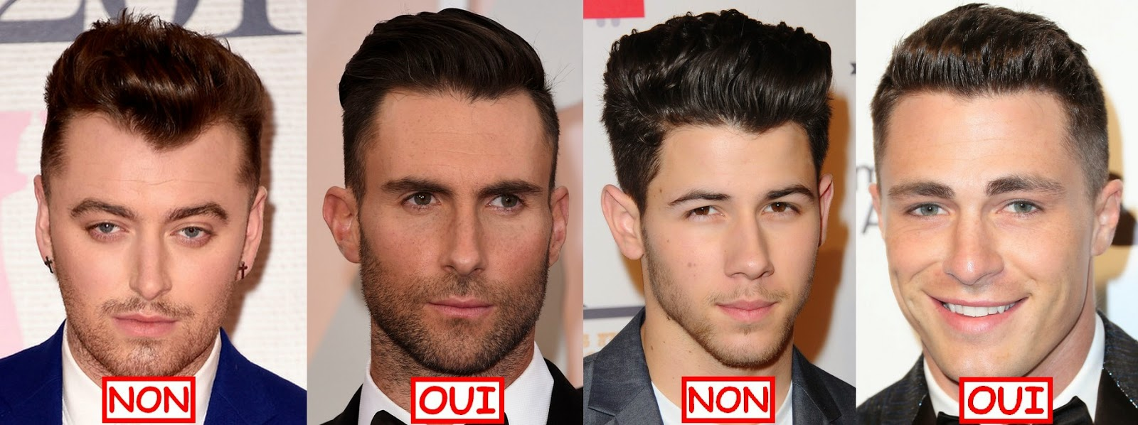 sam smith adam levine nick jonas colton haynes