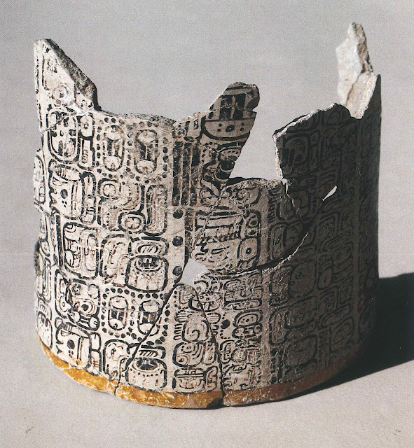 Discovery of painted hieroglyphic vase gives clues about breakdown of Maya civilization
