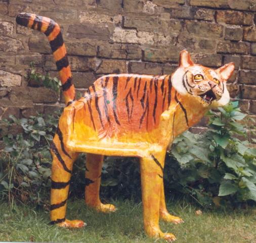 Poppy Westwood Sculpture and Papier Mache