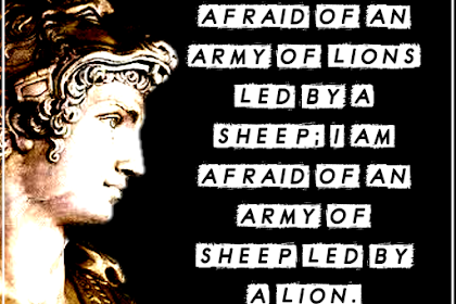 Alexander The Great Quotes | Leadership | Military | Death