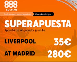 888sport superapuesta champions Liverpool vs Atletico 11 marzo 2020
