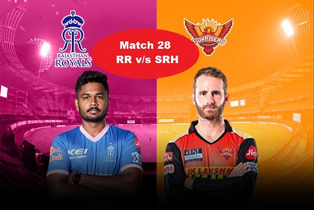 LIVE: RR Vs SRH Live Score & Commentary | Today's IPL Match Live | Fantasy Player Prediction