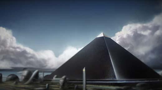Libro del año 1700 detalla una misteriosa cuarta PIRÁMIDE NEGRA existente en Giza