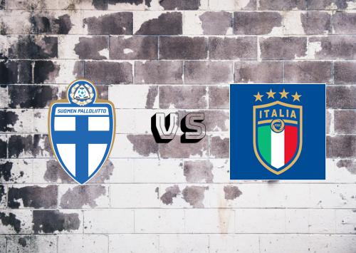 Finlandia vs Italia  Resumen y Partido Completo
