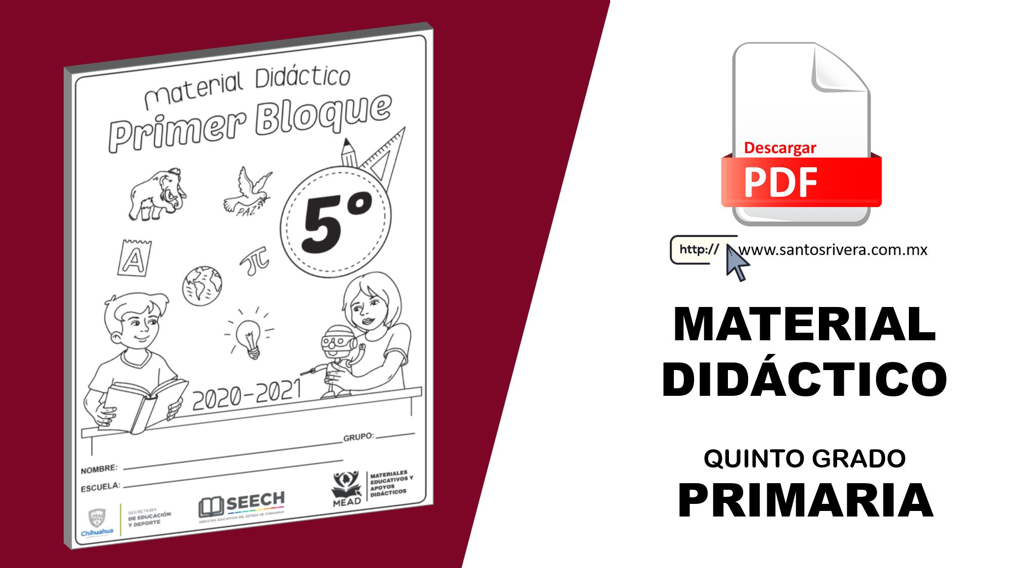 Material didáctico 5° de Primaria