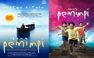 Contoh Hasil Telaah Struktur Teks Ulasan Novel Sang Pemimpi | Bahasa Indonesia SMP
