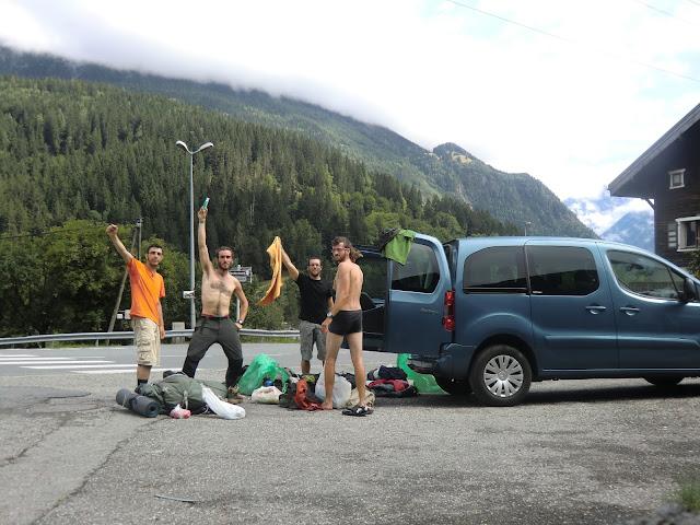 Final Tour del Mont Blanc