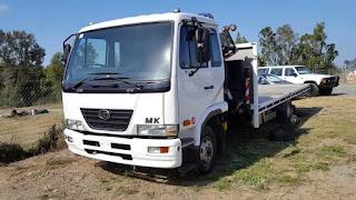 Deretan Truck Nissan Diesel Bermesin Hino