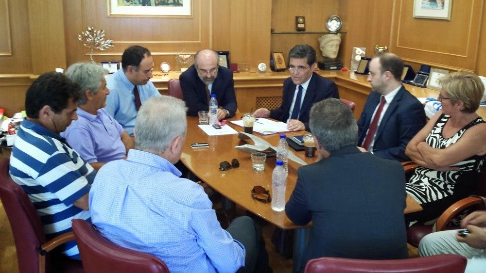 Σύσκεψη για τις σχολικές υποδομές στην Αλεξανδρούπολη