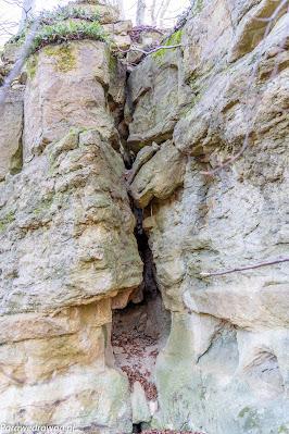 Stromiec: formacje skalne wokół wierzchołka