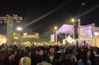 Konser Dangdut Wakil Ketua DPRD Tegal Ditengah Pandemi, Tuai Kritikan