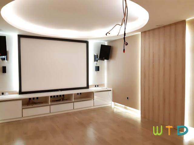 Desain Home Theater Lampung