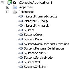 Kelvin's Blog: Create a Crm console app from scratch