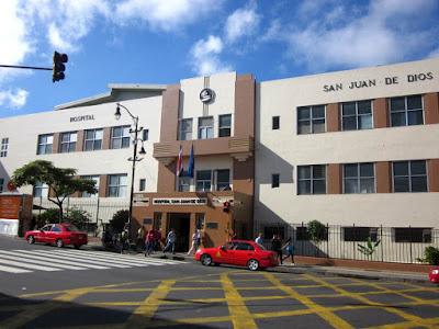 Hospital San Juan de Dios en San Jose