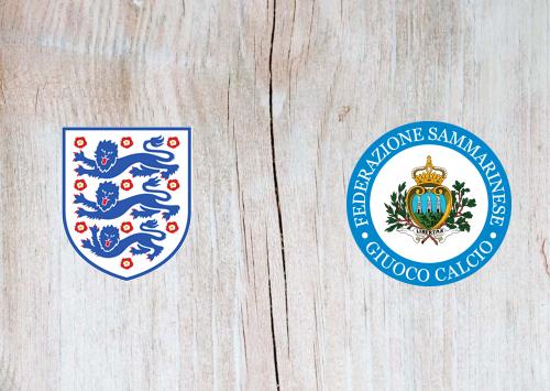 England vs San Marino -Highlights 25 March 2021