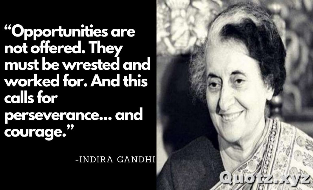 BEST quotes by Indira Gandhi about students, freedom, Woman and more with quotes Images