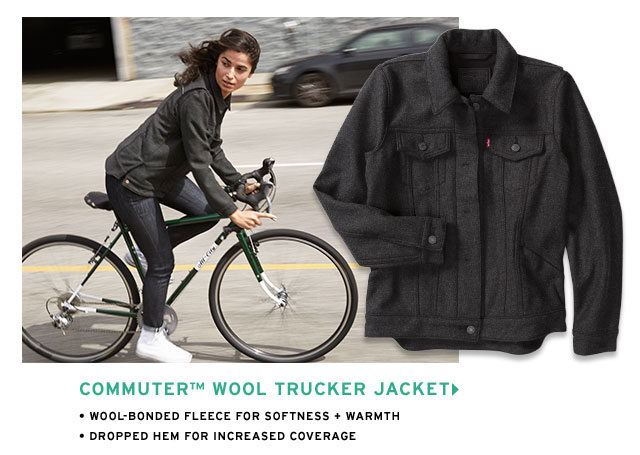 Commuter Woll Trucker Jacket
