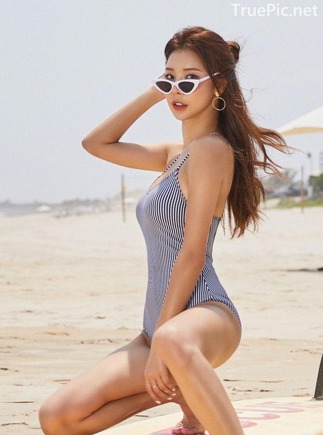 Korean model and fashion - Park Da Hyun - Hightension Swimsuit Set - Picture 8