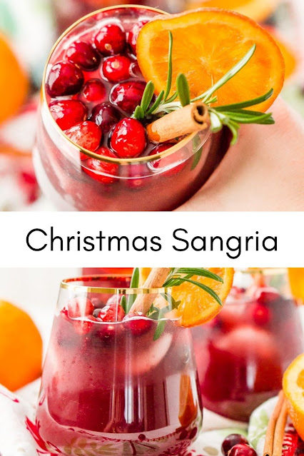 Christmas Sangria Drink Recipe