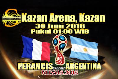 JUDI BOLA DAN CASINO ONLINE - PREDIKSI PERTANDINGAN PIALA DUNIA 2018 PERANCIS VS ARGENTINA 30 JUNI 2018