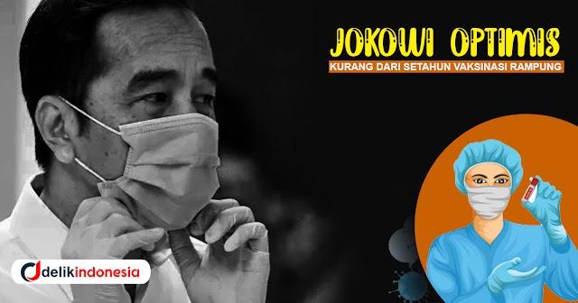 Jokowi Optimis Kurang Dari Setahun Vaksinasi Rampung