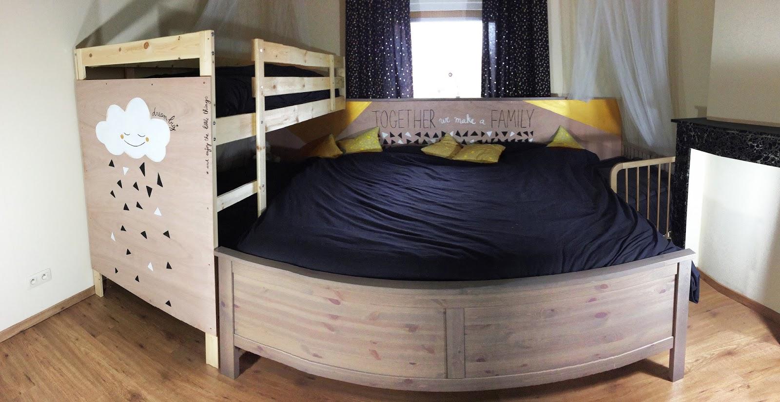 Mamamira dream big een bed tegen varkentjes - Bed dat gelederen ...