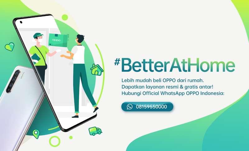 Beli Smartphone OPPO lewat WhatsApp (oppomobile.id)