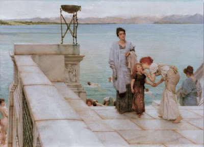 Un baiser - Sir Lawrence Alma-Tadema