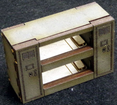 Sally 4th - Science Fiction Scenery Bunk Beds